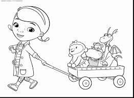 Doc Mcstuffins Coloring Pages Remarkable With And Lambie Pictures