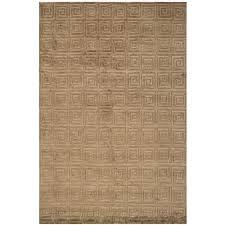 bronze key area rug greek navy design