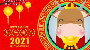 Chinese New Year Song 2021/ New year songs - year of the buffalo / Happy new  year 2021/astro - YouTube