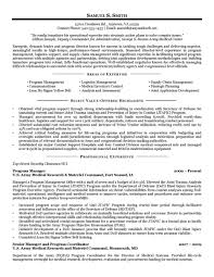 Air Force Resume Examples First Sergeant Targeted Academy Example