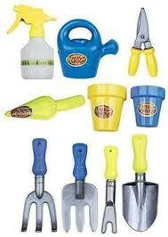 14 piece toy mini garden tools kit play