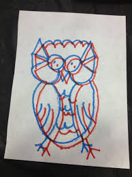 3d effect drawing images how to make 3d drawings and 3d glasses from art lesson launchpad
