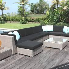 skyline design pacific modular rattan garden corner sofa set
