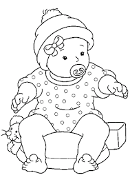 Small Picture Printable Baby Free Coloring Sheet Today Online Coloring Pages