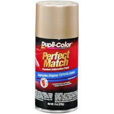 duplicolor bty1596 for toyota code 4m9 cashmere beige 8 oz aerosol spray paint