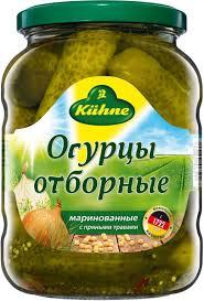 <b>Kuhne Огурцы</b> отборные, 670 г — купить в интернет-магазине ...