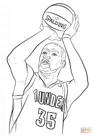 Small Picture Kevin Durant NBA coloring pages Sports Coloring Pages