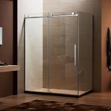 frameless sliding shower door kit