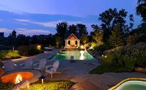 home lighting techniques. Landscape Lighting Pool House Home Techniques