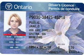 Between And Licences 1999 Ontario Driver's Valid 2004 Of Identification Issued
