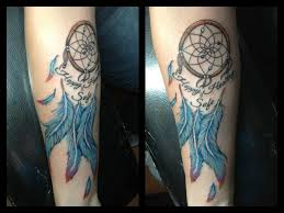 Dream Catcher Feather Meanings Blue dream catcher tattoo meaning Design Idea 64