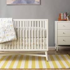 high end nursery furniture. Furniture: Hollywood Regency Style Crib From DwellStudio High End Nursery Furniture R