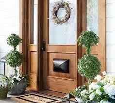 front door wreath hangerElla Adjustable Door Wreath Hanger  Pottery Barn