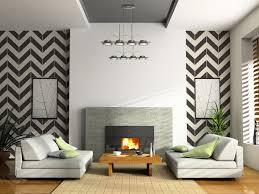 x large black chevron wall decals on a white wall required 15 sheets
