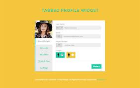 Free Profile Templates