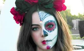 the 15 best sugar skull makeup looks for easy half face sugar skull makeup tutorial