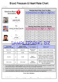 Blood Pressure Chart By Age And Gender Pdf Blood Pressure Chart Templates Samples Forms