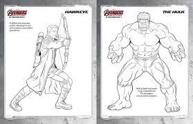 Free Kids Printables Marvels The Avengers Age Of Ultron Coloring