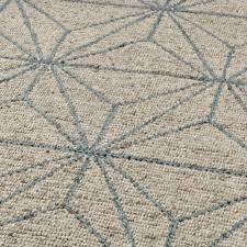 geometric alpha rug 100 wool hand knotted natural textured decorative home mat