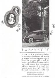 lafayette touring car 1921 ad picture
