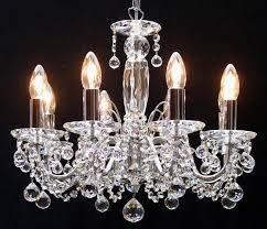 figaro chrome chandelier with crystal