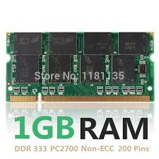 which early dimm form factor applied to laptops 2018 new 1gb ddr2700 non ecc cl2 5 laptop computer pc dimm memory