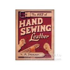 the art of hand sewing leather