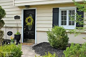front door transformation with modern masters front door paint color elegant black front