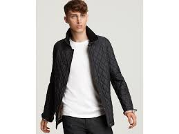 burberry brit roden quilted jacket in ink blue for men lyst