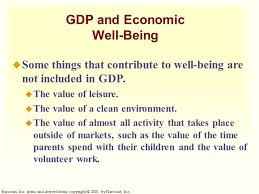 What Is Not Included In Gdp Measuring A Nations Income Chapter 22 Copyright