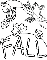 Free Printable Fall Leaf Coloring Pages Autumn Leaves Colouring
