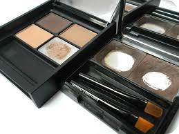 elf eyebrow kit medium vs dark. a picture of benefit browzings and mua pro-brow ultimate eyebrow kit elf medium vs dark