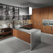 Stainless Steel Kitchen Furniture 15 Kitchen Designs With Stainless Steel Countertops Kitchen