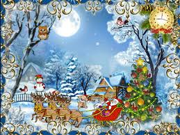 animated moving christmas wallpaper. Beautiful Animated Animated Christmas Cards Wallpaper In Moving