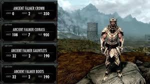 Dawnguard All Light Armor Male