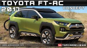2017 TOYOTA FT-AC CONCEPT Review Rendered Price Specs Release Date ...