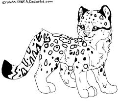Leopard Coloring Pages Free Jokingartcom Leopard Coloring Pages