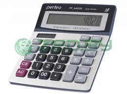 <b>Калькулятор Perfeo Silver PF_A4028</b>, цена 39 руб., купить в ...