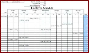 Printable Work Schedule Templates Free Free Printable Weekly Work Schedule Template Printable Weekly Work
