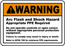 Arc Flash Ppe Chart 2017 Arc Flash Labels 50 Designs To Choose From Safetysign Com