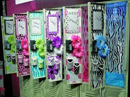 cool locker decor