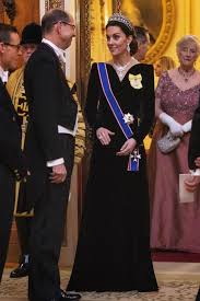 And kate middleton will also have a ceremony of her own, despite her not officially becoming the queen of england. Kate Middleton Recycles Princess Diana S Tiara As Queen Elizabeth Drips In Emeralds Entertainment Tonight