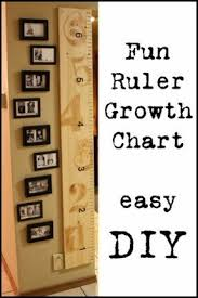 Diy Height Chart Hanging Growth Chart Ideas On Foter