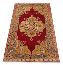 this red rug is a kind of beautiful hand knotted turkish carpets or anatolian rugs