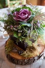 Dcoration florale pour table - ides mariages en automne
