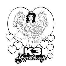 K3 Heel Veel Mooie Kleurplaten Van De Meidengroep Leuk Voor Kids