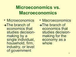 chapter microeconomics intro microeconomics vs