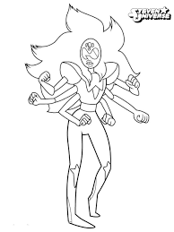 Alexandrite From Steven Universe Coloring Pages Printable Get