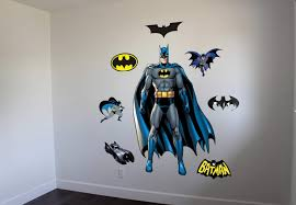 amazing and varied batman wall decals by ey