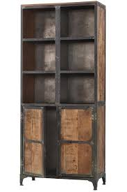 wood storage cabinets. manchester cabinet - industrial living room storage cabinets reclaimed wood t